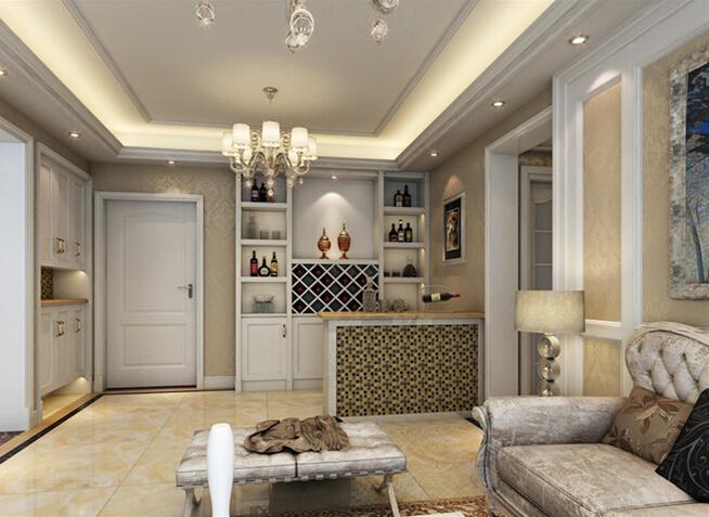 奥北公元欧 客厅图片来自大宅别墅装修设计在欧式风格装修设计丨奥北公元的分享