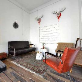 60平米北欧风情二室一厅装修设计