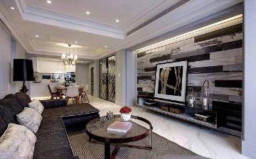 122平混搭风格三室装修设计案例