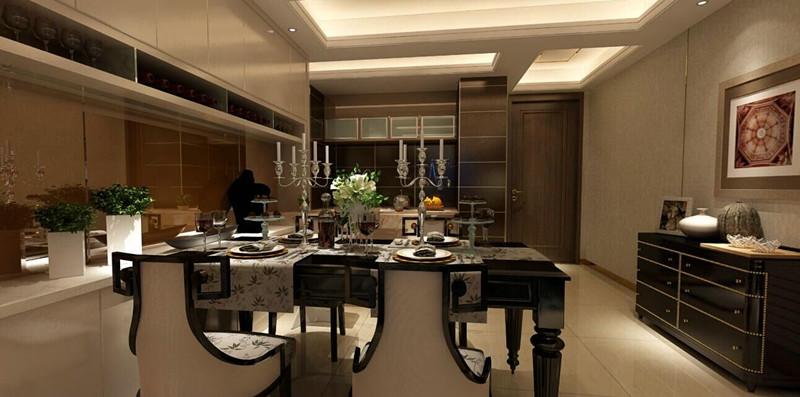 港式 三居 餐厅图片来自武汉一号家居网装修在都会轩97平港式3室2厅的分享