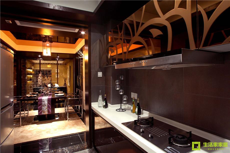 三居 小资 收纳 简约 新中式风格 中式风格 生活家家居 厨房图片来自天津生活家健康整体家装在南益名士华庭 132的分享