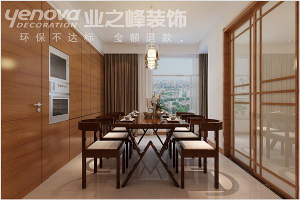 万景苑170平米现代风格设计装修效果图——太原业之峰装饰