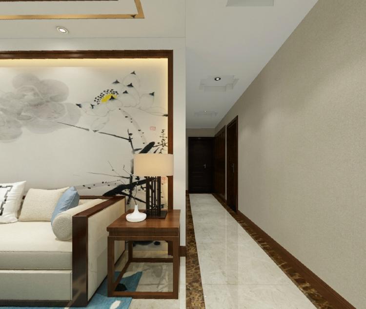 新中式 四室 客厅图片来自武汉一号家居网装修在广电兰亭时代127平新中式4室2厅的分享