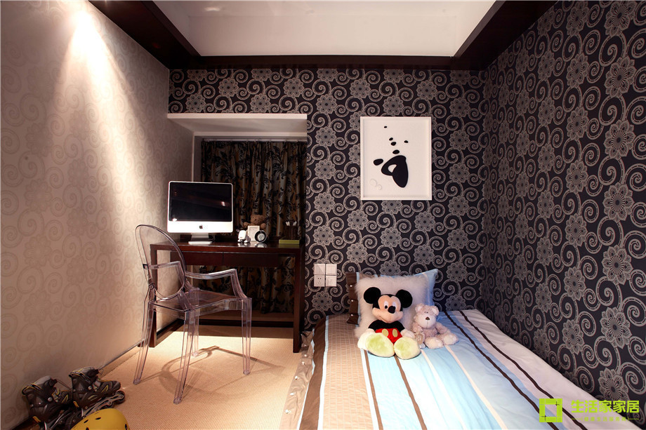 三居 小资 收纳 简约 新中式风格 中式风格 生活家家居 儿童房图片来自天津生活家健康整体家装在南益名士华庭 132的分享