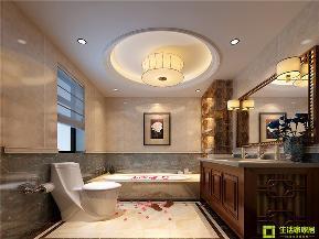 简约 三居 白领 小资 收纳 中式 新中式 生活家家居 卫生间图片来自天津生活家健康整体家装在雅仕兰庭 140的分享