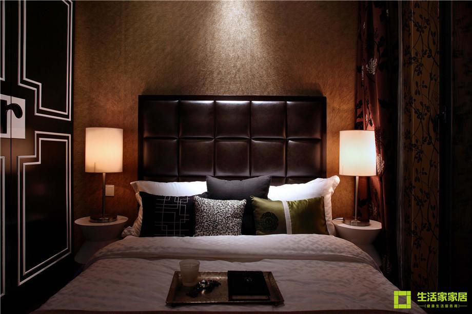 三居 小资 收纳 简约 新中式风格 中式风格 生活家家居 卧室图片来自天津生活家健康整体家装在南益名士华庭 132的分享