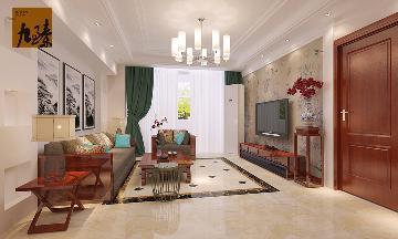 四居室新中式装修--181平米