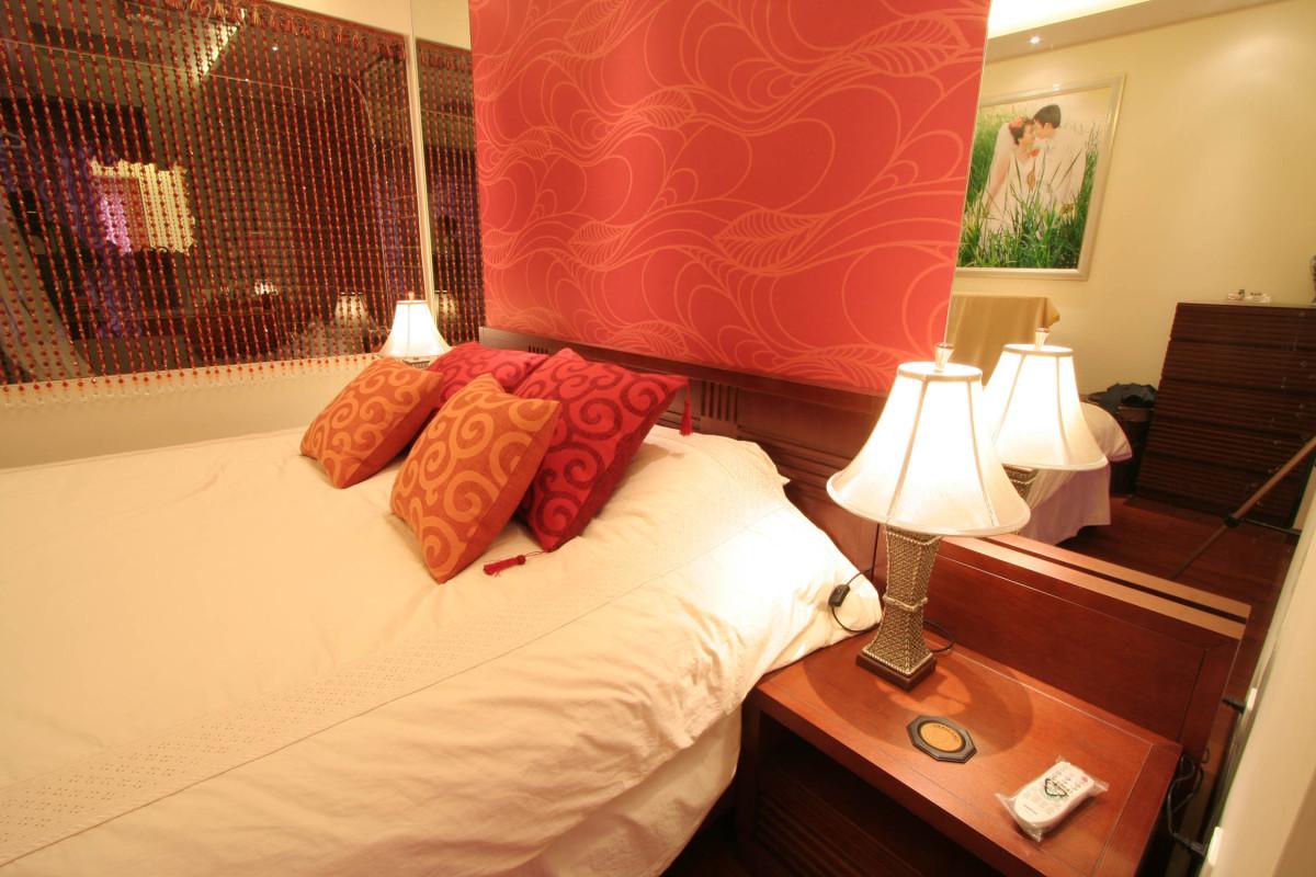 卧室图片来自北京居然元洲装饰小尼在牛驼孔雀城300平米新中式不枯燥的分享