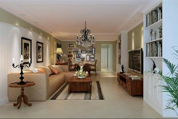 潘家园150四居室现代风格