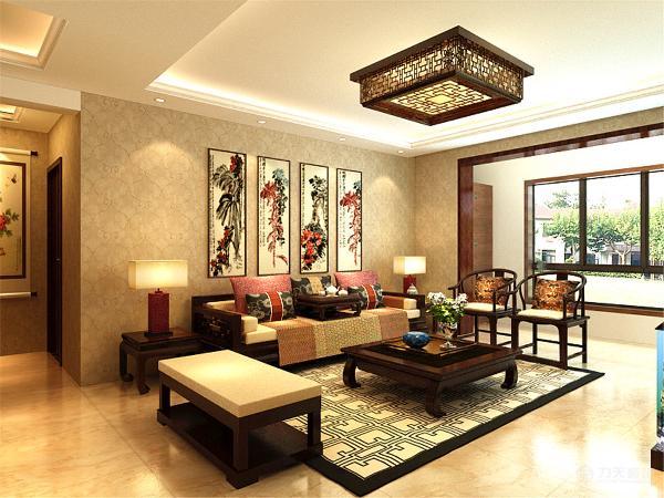 客厅和餐厅的吊灯采用了木质花格,演绎出现代感,同时不缺乏简约清新、自然,纯朴大方。
