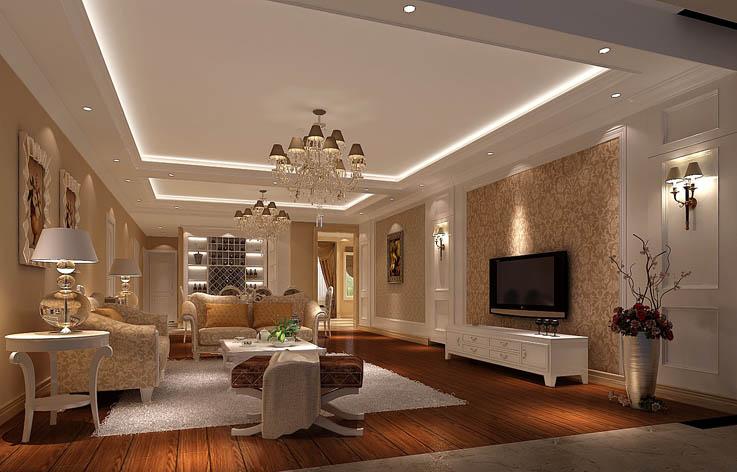 欧式 复式 80后 室内设计 家装 客厅图片来自张邯在高度国际-御翠尚府6的分享