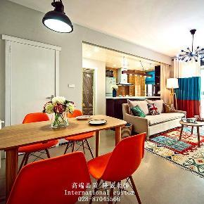 混搭 二居 白领 收纳 旧房改造 80后 小资 舒适 温馨 餐厅图片来自fy1831303388在龙湖时代天街的分享