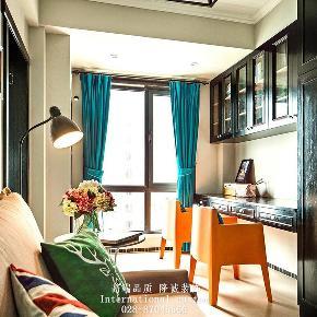混搭 二居 白领 收纳 旧房改造 80后 小资 舒适 温馨 书房图片来自fy1831303388在龙湖时代天街的分享