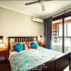 混搭 二居 白领 收纳 旧房改造 80后 小资 舒适 温馨 卧室图片来自fy1831303388在龙湖时代天街的分享