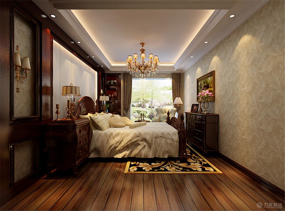 卧室图片来自阳光力天装饰在欧式   首创城  127㎡的分享