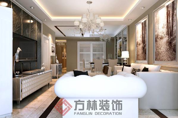 沈阳龙之梦畅园125平米现代风格装修案例