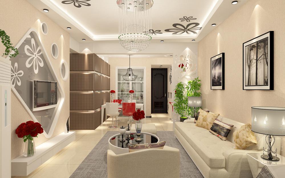 现代 简约 二居 客厅图片来自链连妞妞在安贞里的分享