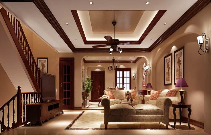 田园 别墅 室内设计 家装 白领 客厅图片来自张邯在高度国际- 香醍溪岸的分享
