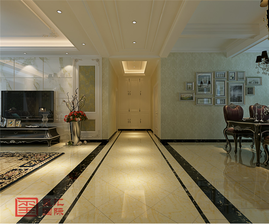 欧式 三室 玺汇国际 东胜紫御府 其他图片来自河北玺汇国际装饰公司在古典清新179平欧式三室的分享