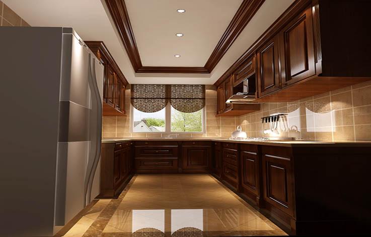 田园 别墅 室内设计 家装 白领 厨房图片来自张邯在高度国际- 香醍溪岸的分享