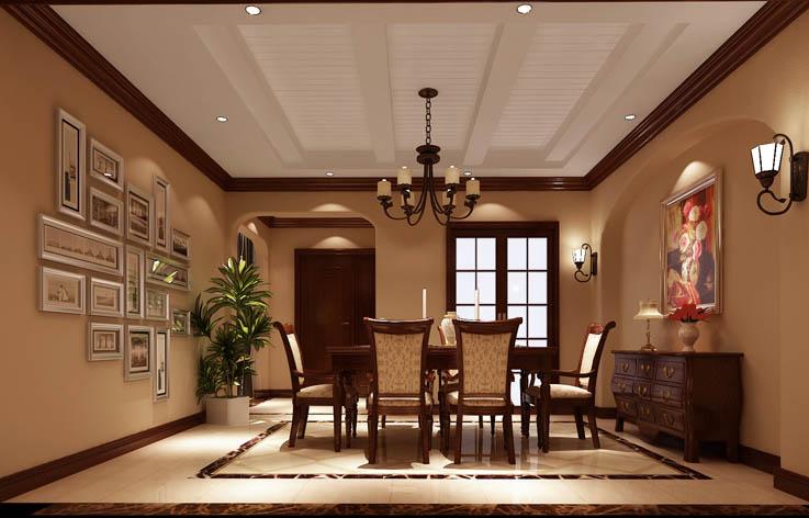 田园 别墅 室内设计 家装 白领 餐厅图片来自张邯在高度国际- 香醍溪岸的分享
