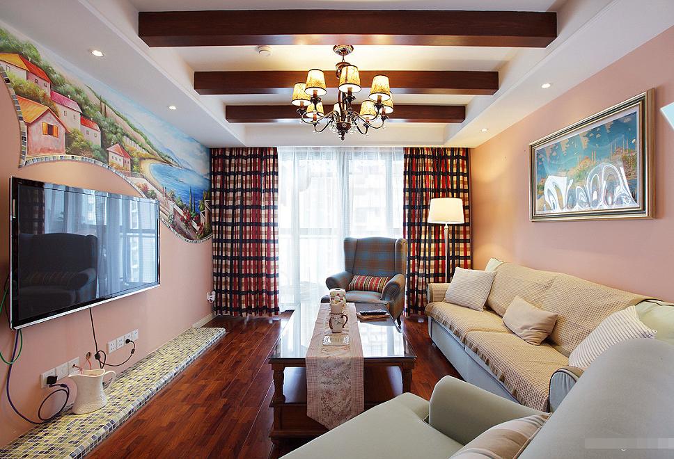 欧式 三居 客厅图片来自西安紫苹果装饰工程有限公司在风憬天下的分享