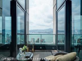 大户型 现代 简约 白领 阳台图片来自幸福空间在筑城市之巅 品临海秘境的分享