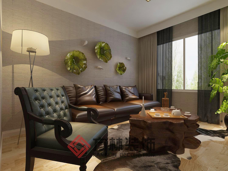 北欧 三居 白领 收纳 80后 小资 客厅图片来自方林装饰在奉天九里125平米装修案例的分享