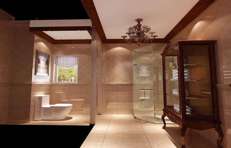 田园 别墅 室内设计 家装 白领 卫生间图片来自张邯在高度国际- 香醍溪岸的分享
