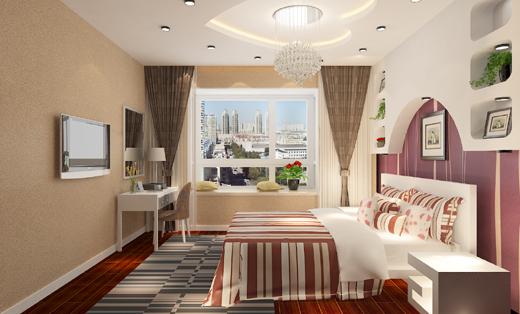现代 简约 二居 卧室图片来自链连妞妞在安贞里的分享