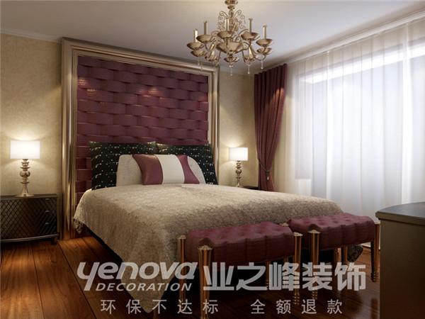 现代中式 装修设计 业之峰 卧室图片来自业之峰太原分公司在映像西班牙小区的分享