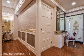 别墅 新古典 优雅 奢华 衣帽间图片来自幸福空间在413平华美艺术 织就浪漫序曲的分享