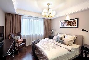 简约美式 二居 80后 白领 文艺青年 金地自在城 卧室图片来自武汉全有装饰在金地自在城遇上柠檬时光的分享