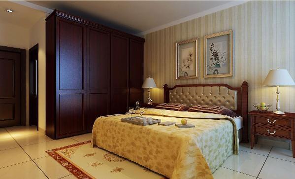 新中式卧室家具的选择,达到了以简替繁,以少替多的理念,温馨的灯光,配以素色简约的床品套件,为了给居室增添几分暖意。