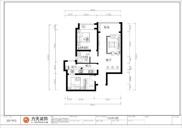 大体来看整个户型被分成了左右两个区域,左边为卧室厨房卫生间,右边即为客厅餐厅区。从入户门开始介绍,入户门左手边是次卧室的位置,次卧室面积不大,有一点不足是采光不是很好。