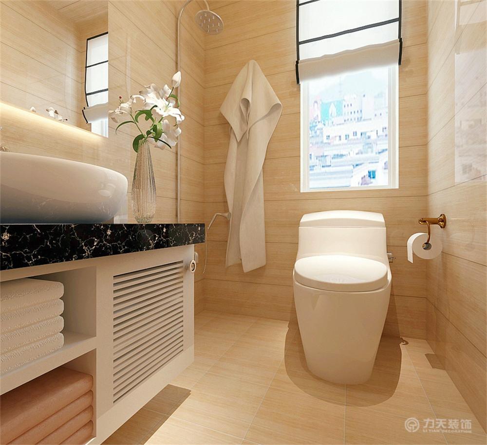 三居 混搭 现代 收纳 小资 浴室柜 瓷砖 卫生间图片来自阳光放扉er在力天装饰- 枫蓝国际140㎡的分享