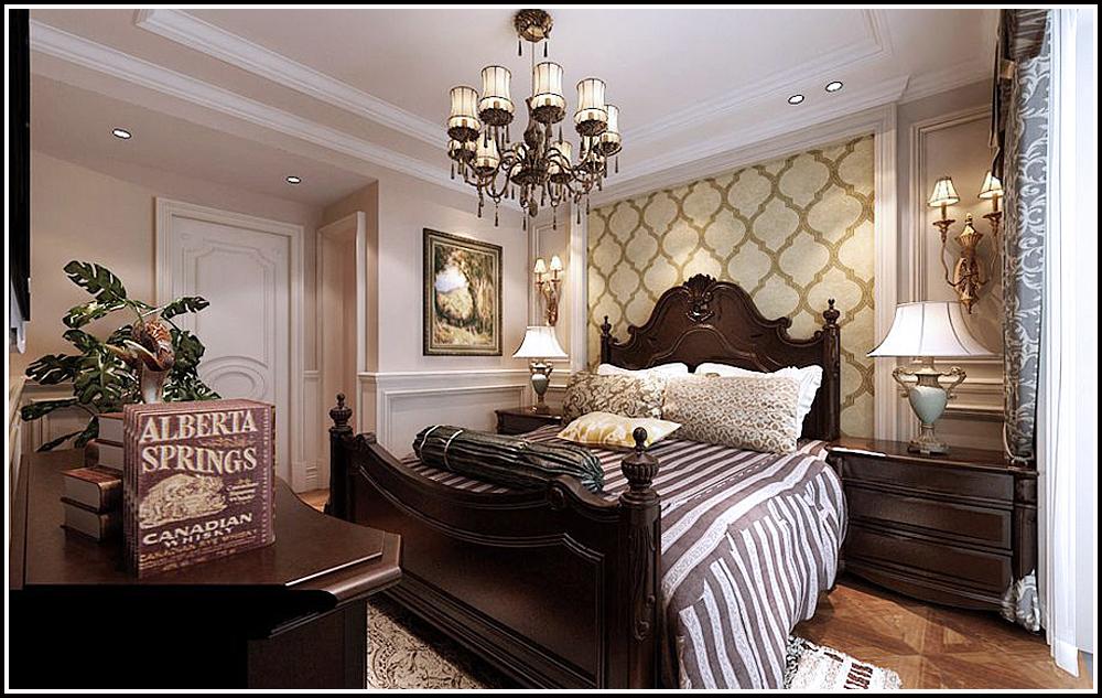 三居 保利康桥 欧式风格 卧室图片来自百家设计小刘在保利康桥149平欧式风格的分享