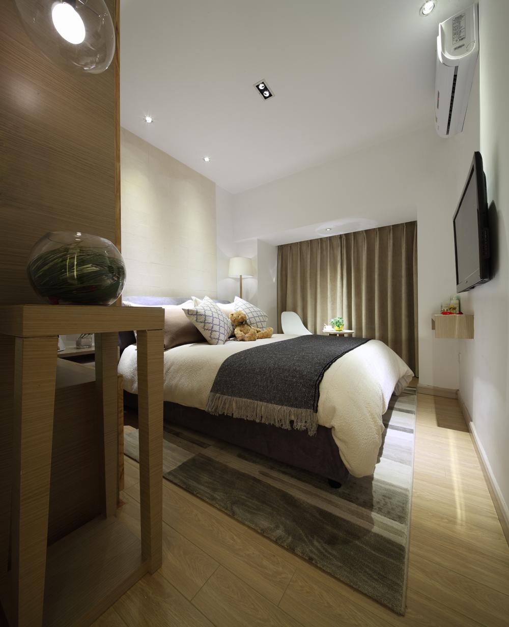 日式 卧室图片来自安豪装饰在世茂翡翠首府-116平-日式风格的分享