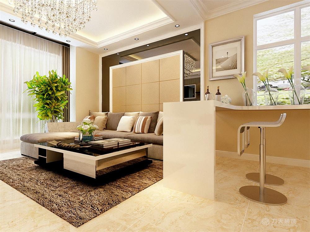三居 混搭 现代 收纳 小资 吧台 沙发背景墙 吊顶 客厅图片来自阳光放扉er在力天装饰- 枫蓝国际140㎡的分享