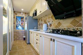 三居 白领 收纳 旧房改造 80后 小资 美式 舒适 温馨 厨房图片来自fy1831303388在炜岸城1期的分享