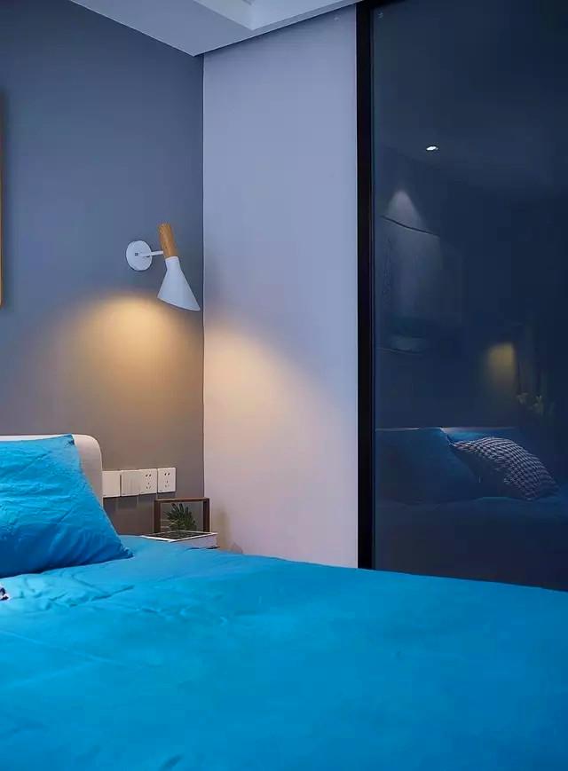 朝阳 新城 小区 装修 设计 卧室图片来自高度国际装饰宋增会在朝阳新城120平米现代北欧混搭的分享