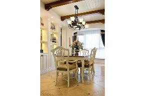 三居 白领 收纳 旧房改造 80后 小资 美式 舒适 温馨 餐厅图片来自fy1831303388在炜岸城1期的分享