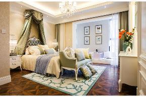 欧式 三居 白领 收纳 旧房改造 80后 小资 舒适 温馨 卧室图片来自fy1831303388在锦华苑欧式的分享
