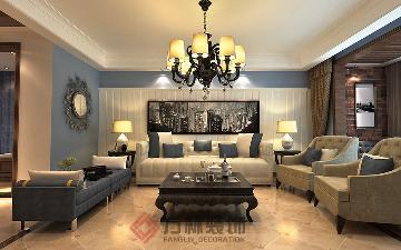 府城名邸167平简美风格案例