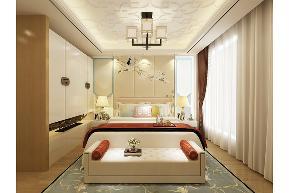 田园 三居 白领 收纳 旧房改造 80后 小资 舒适 温馨 卧室图片来自fy1831303388在青南美湾的分享
