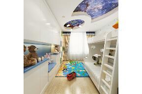 田园 三居 白领 收纳 旧房改造 80后 小资 舒适 温馨 儿童房图片来自fy1831303388在青南美湾的分享