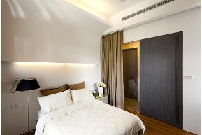 现代 二居 白领 收纳 旧房改造 80后 小资 舒适 温馨 卧室图片来自fy1831303388在宏御花园的分享