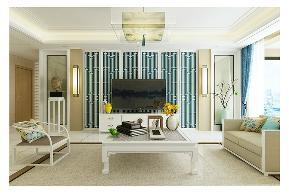 田园 三居 白领 收纳 旧房改造 80后 小资 舒适 温馨 客厅图片来自fy1831303388在青南美湾的分享
