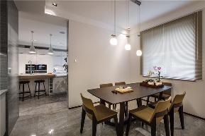 白领 收纳 旧房改造 80后 小资 现代 舒适 温馨 四居 餐厅图片来自fy1831303388在金科廊桥水乡的分享