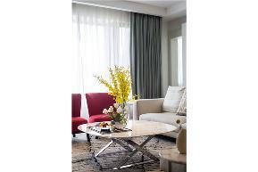 白领 收纳 旧房改造 80后 小资 现代 舒适 温馨 四居 客厅图片来自fy1831303388在金科廊桥水乡的分享